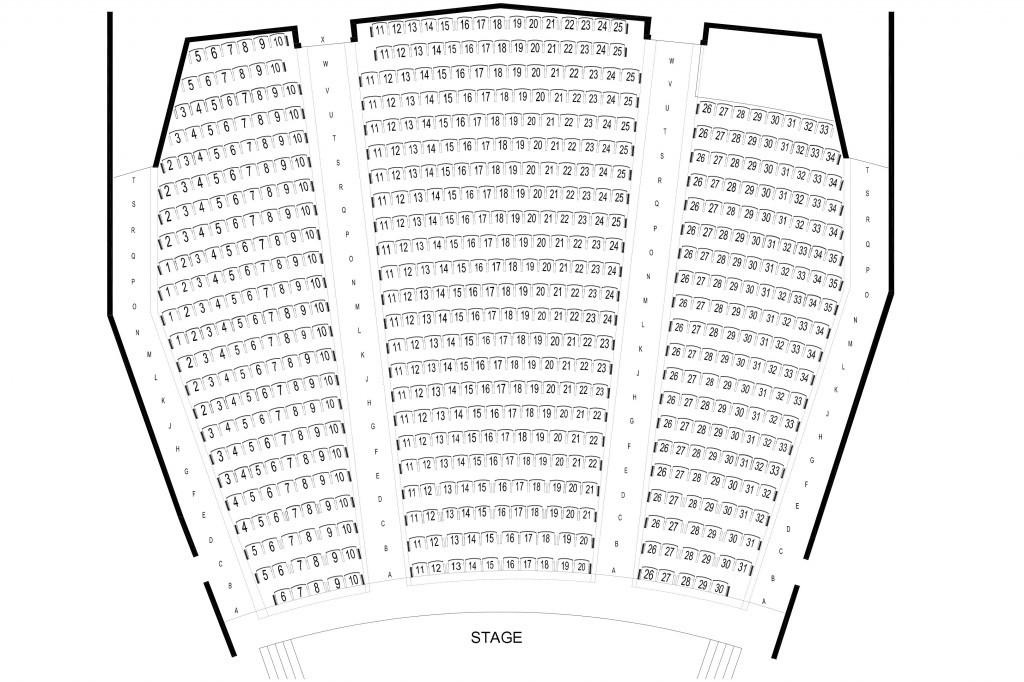Centennial Hall Seating Chart Centennial Hall Tickets And