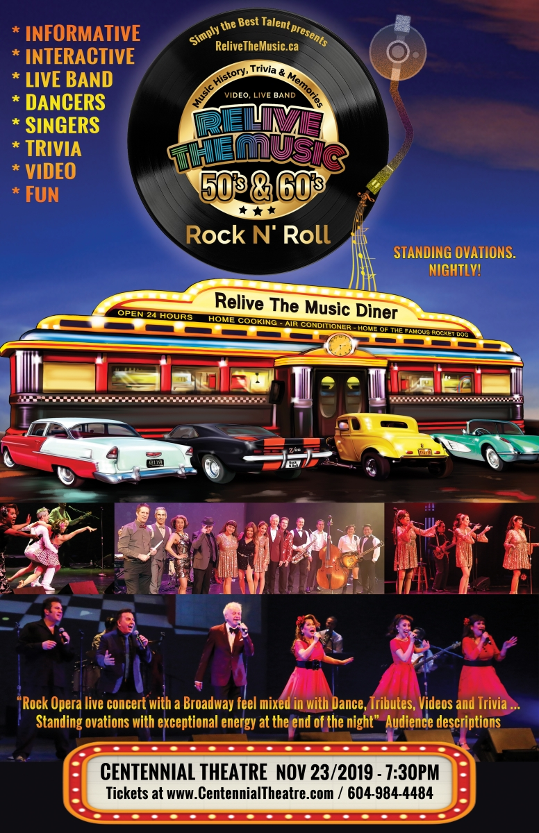 Relive the Music 50's and 60's Rock N Roll | North Vancouver