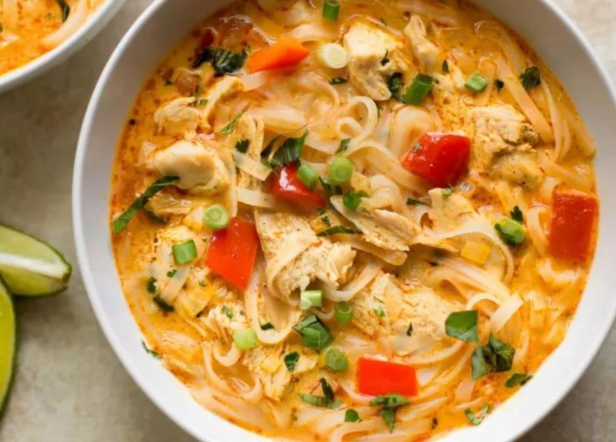 Thai Turkey Noodle Soup