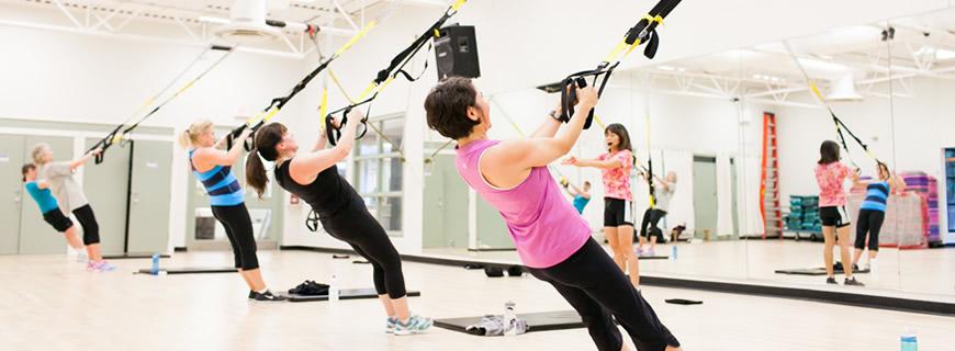 TRX Fitness Class
