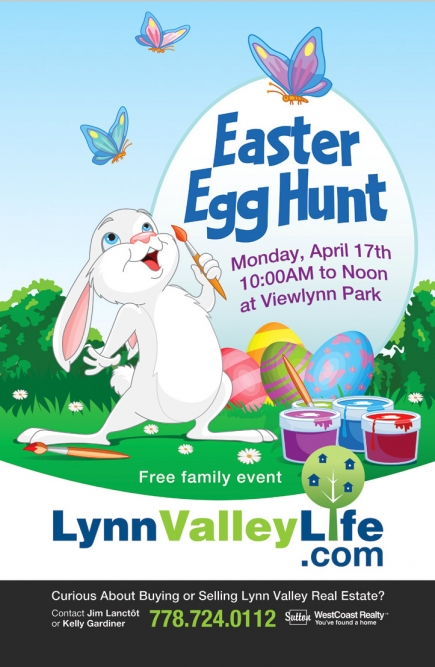 Lynn Valley Life Easter Egg Hunt