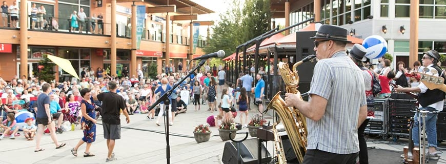 live and local concert series in lynn valley village