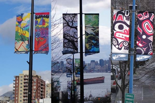 City of North Vancouver street banners