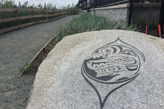 public art, sculpture, North Vancouver, Indigenous,