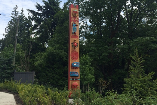 Indigenous, Carved Pole