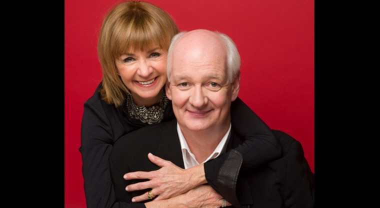 Colin Mochrie and Deb McGrath